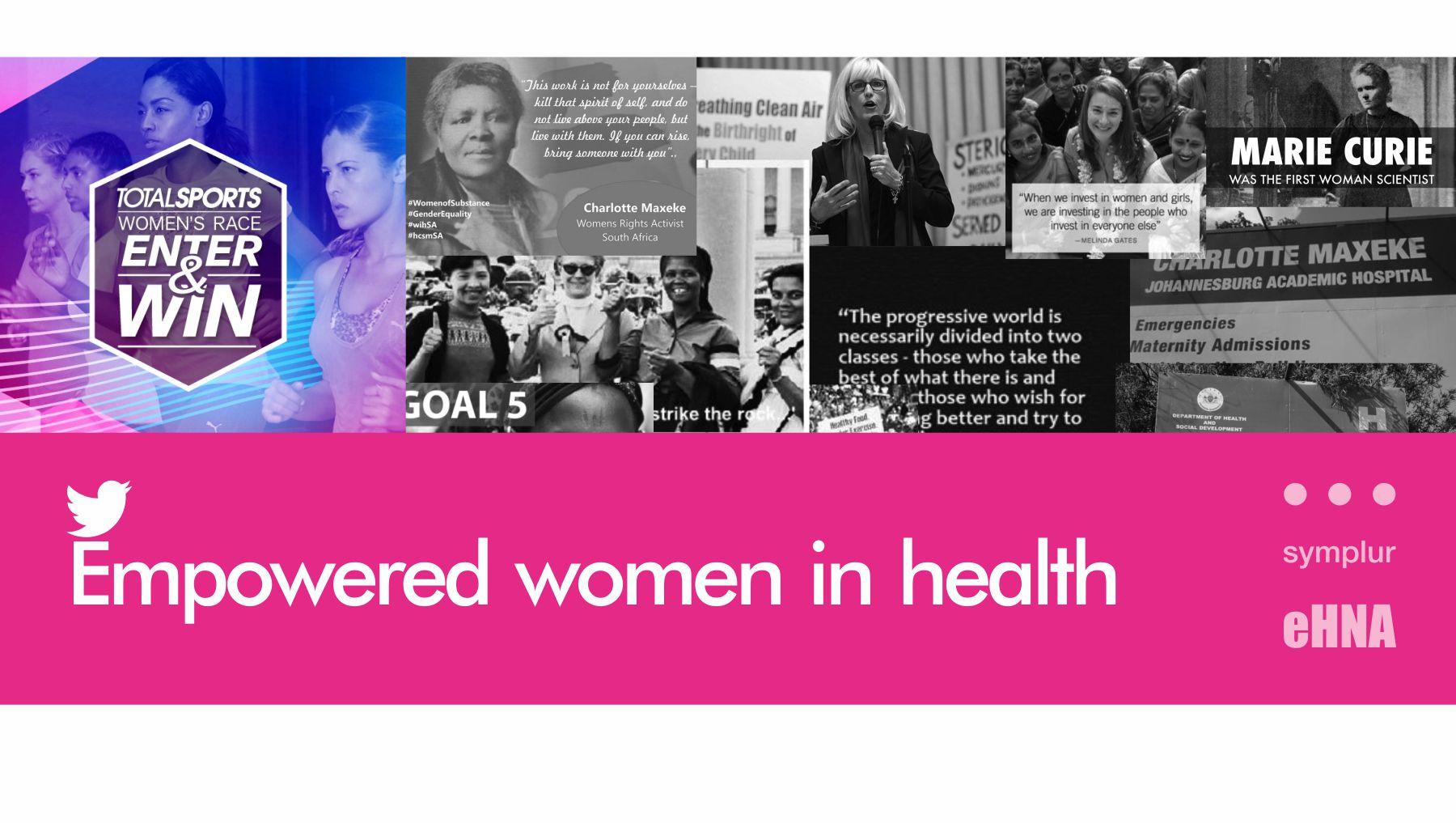 Tweetchat - women in health