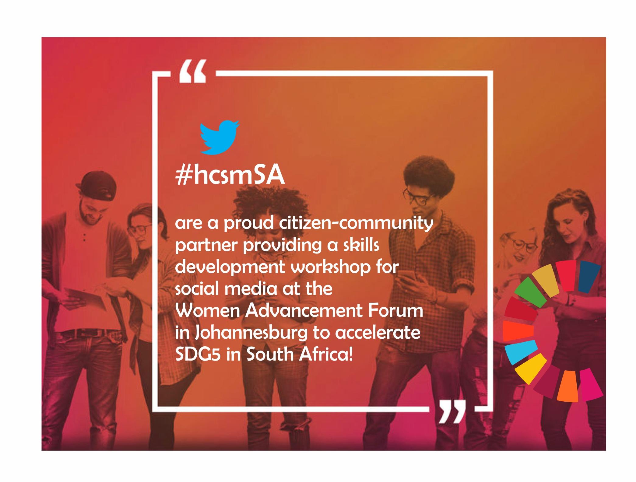 Women Advancement Forum South Africa, December 2016