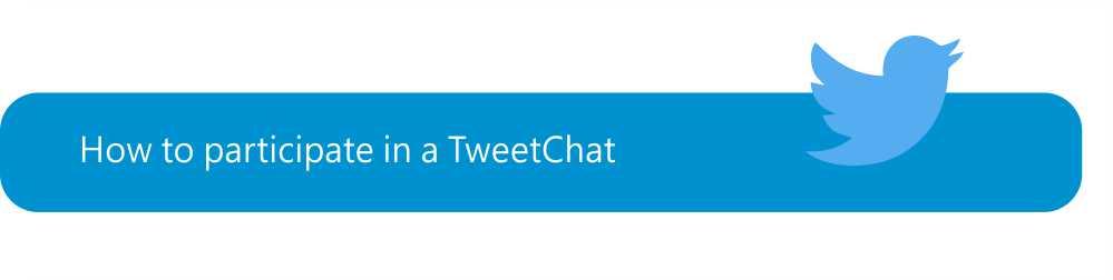 Twitter - participate