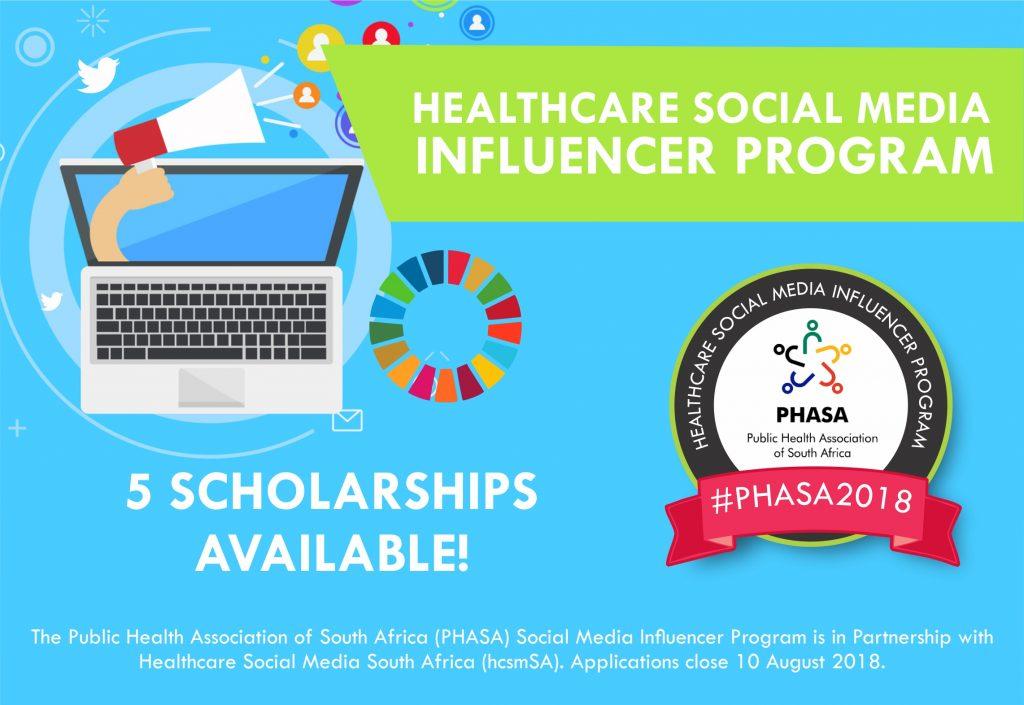 PHASA2018 - Healthcare Social Media Influencer Program - #hcsmSA